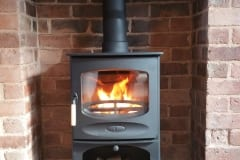 King Arthur Bathams Stove Installation