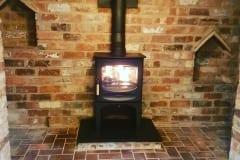 Charnwood C5 stove installation